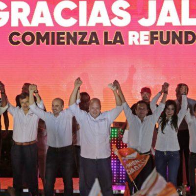 #Elecciones2018: Movimiento Ciudadano y Morena lideran en las elecciones en Jalisco