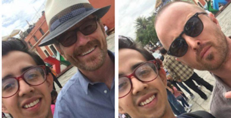 #ParenTodo: Walter White y Jesse Pinkman estuvieron en Oaxaca y esto hicieron