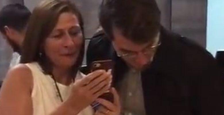 #VIDEO La emotiva reacción de Tatiana Clouthier al ver las encuestas que se está haciendo viral