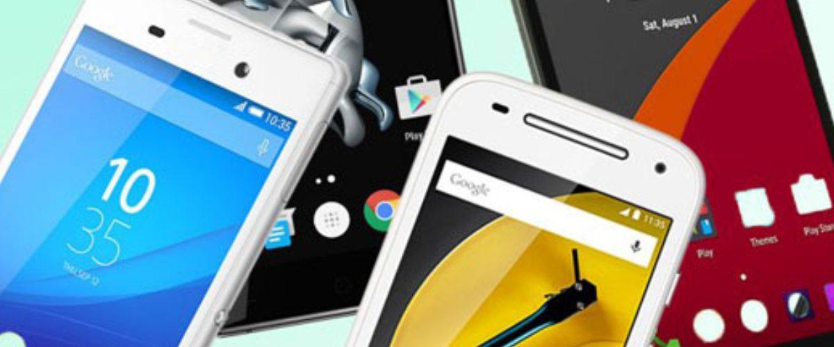 #AGUAS: Esta es la lista de los teléfonos Android que más fallan en 2018