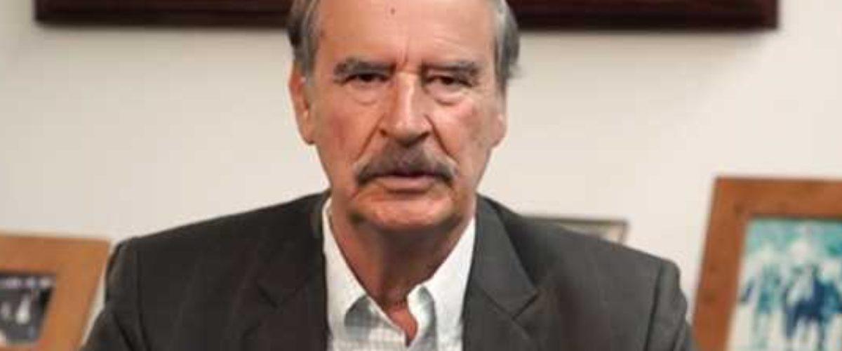 """Vicente Fox le pide a AMLO que """"le calle la boca"""""""