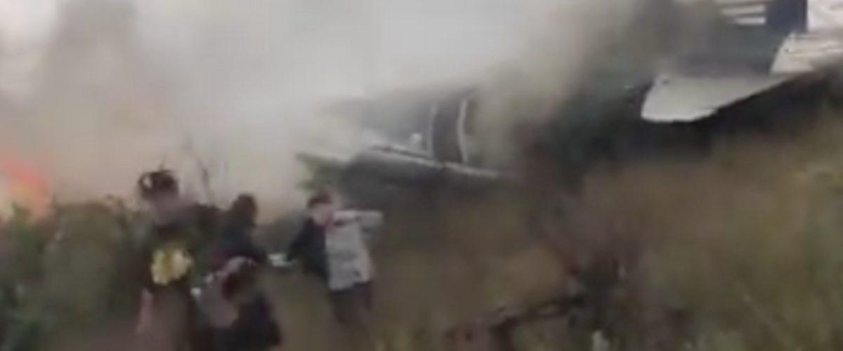 Pasajera 'hace negocio' con video de accidente de Aeroméxico