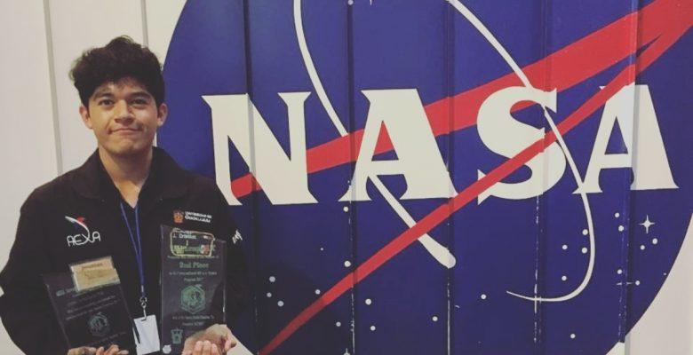 Mexicano es seleccionado por la NASA y Rusia para estudiar aeronáutica