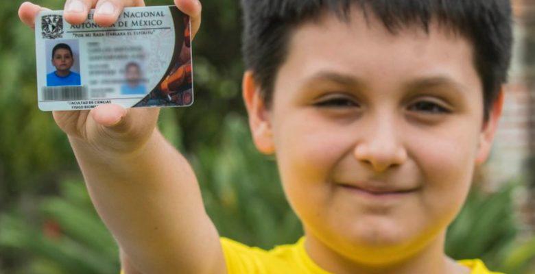 #Genio: A sus 12 años, Carlos Antonio estudiará una licenciatura en la UNAM