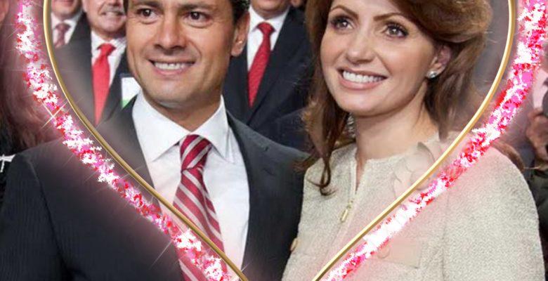 La romántica felicitación de Peña Nieto a Angélica Rivera por su cumpleaños