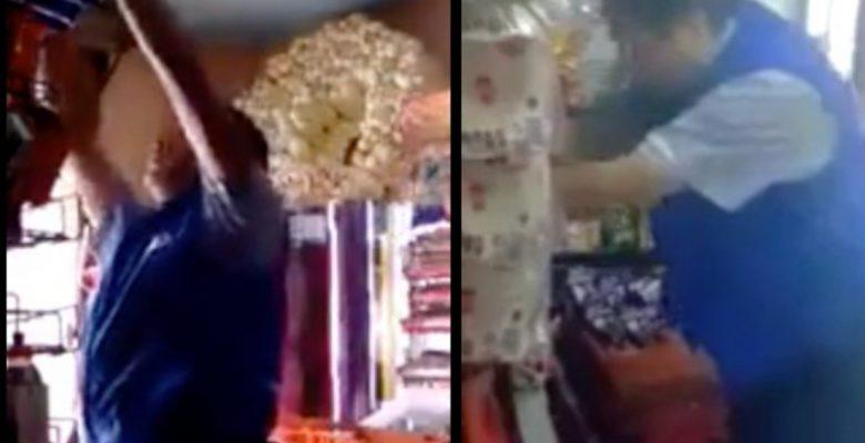 ¡¿Ooootro?! Surgen más videos de repartidores robando en tienditas y Bimbo no se la acaba