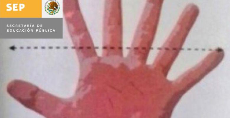 Libro de la SEP publica mano con 6 dedos y el mundo arde