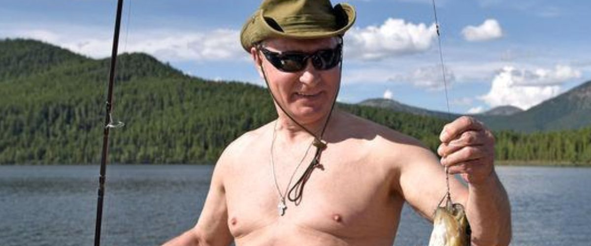 Las fotos de las épicas vacaciones de Vladimir Putin en Siberia