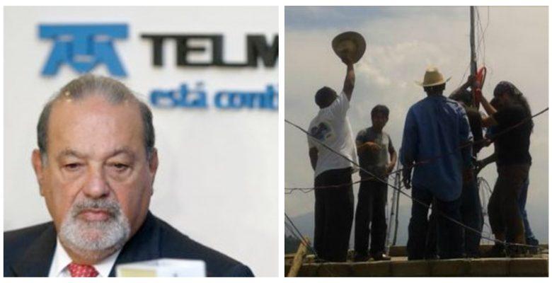 Esta red indígena se le pone al 'tú por tú' a las empresas de Carlos Slim