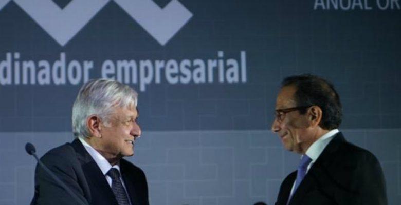 Las propuestas que el nuevo líder de los empresarios hizo a AMLO