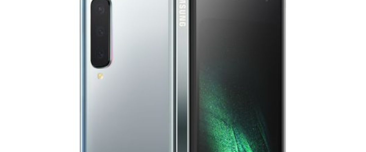 Samsung acaba de presentar un smartphone que se dobla y así se ve