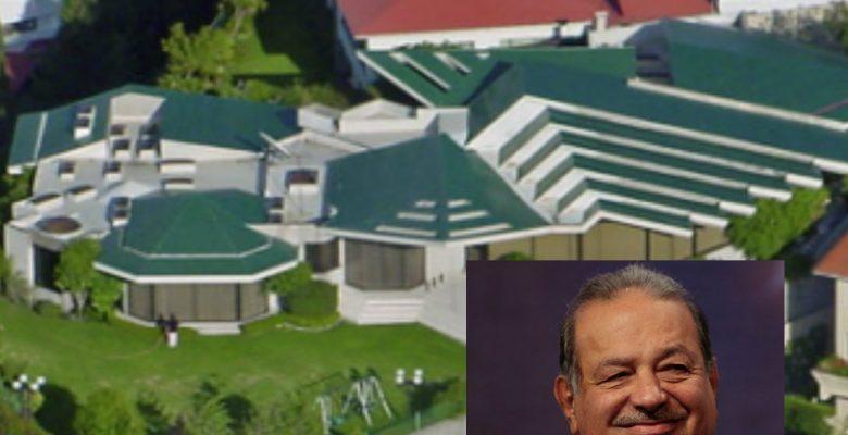 Las mansiones donde viven los hombres más ricos del mundo