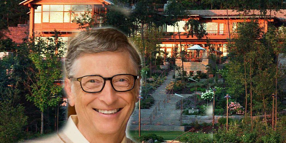 Así es la lujosa mansión de Bill Gates valuada en 127 millones de dólares