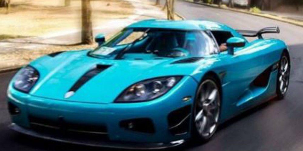 Lo que se sabe del auto valuado en 30 mdp que fue chocado en Reforma