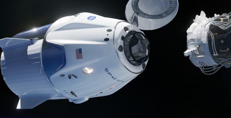 Así fue el acoplamiento de la cápsula Dragon de Space X a la ISS