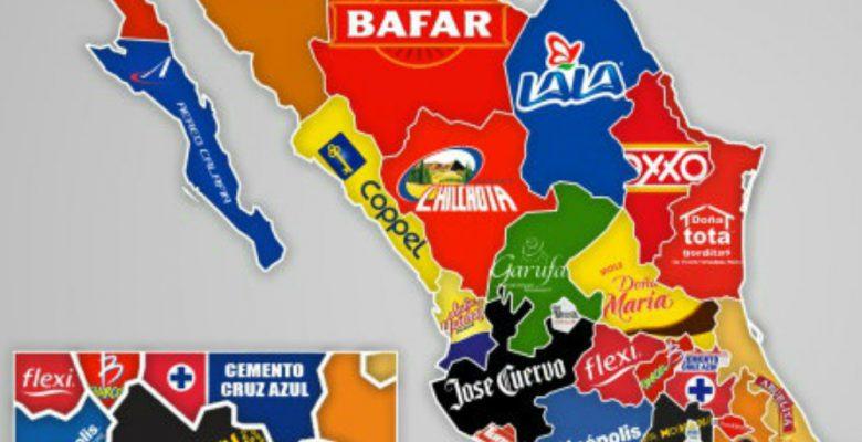 Las marcas mexicanas más famosas que se crearon en cada estado del país