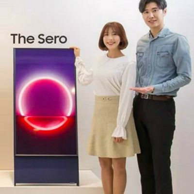 ¿Para qué sirve la televisión vertical que sacará a la venta Samsung?