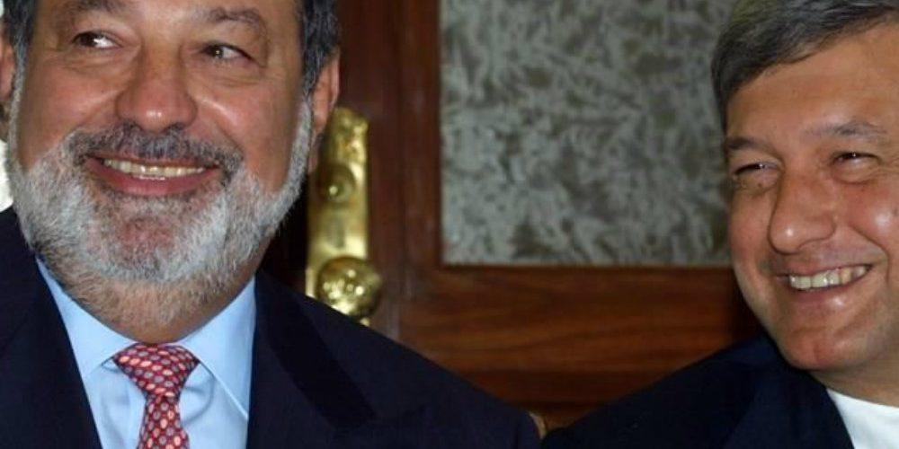Medio gringo revela por qué AMLO cambió a Slim por Salinas Pliego