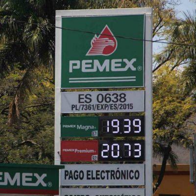 ¿Por qué la gasolina no baja a pesar de los estímulos que da el gobierno?