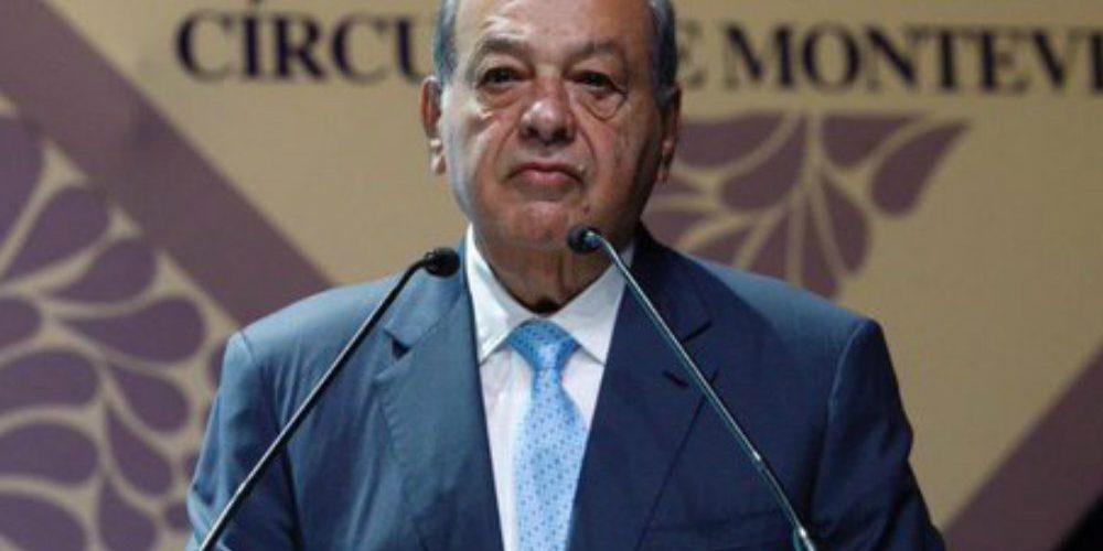 Slim lamenta el atraso de México y pide que se apueste por el internet satelital