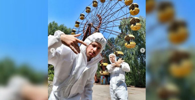 Fotos de Luisito Comunica en Chernobyl indignan a sus seguidores