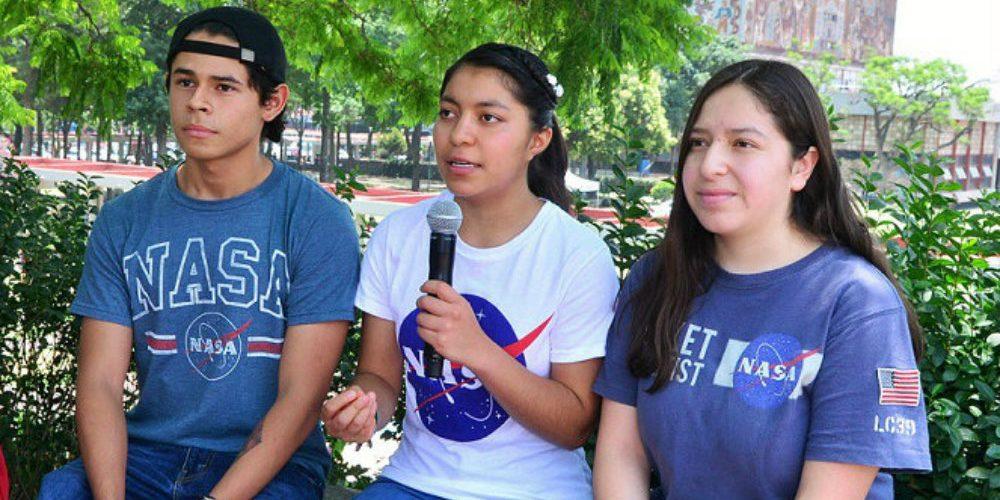 Alumnos de prepa de la UNAM ganan concurso de la NASA