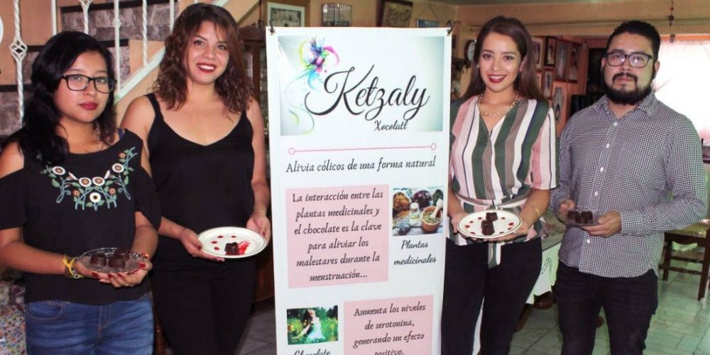 Jóvenes mexicanos crean chocolate que alivia los cólicos menstruales