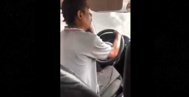 Taxista ofende a usuaria por no llevar cambio y le pide bajar mientras acelera