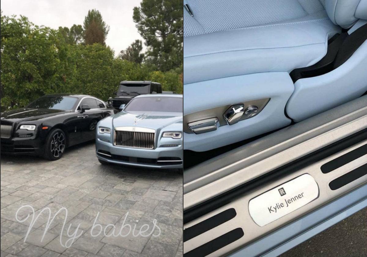 La lujosa colección de autos que tiene Kylie Jenner
