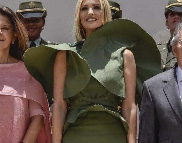Viento levanta el vestido de Ivanka Trump y la convierten en memes