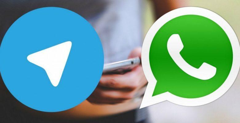 Telegram usa publicidad de WhatsApp para promocionarse y usuarios le hacen segunda