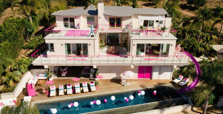 Así es la lujosa casa de Barbie que puedes rentar en Airbnb