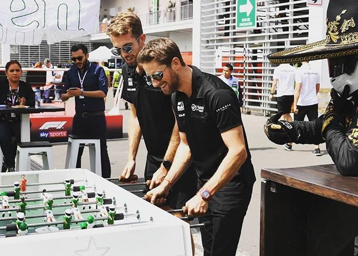 Así disfrutan su estancia en México los pilotos de la Fórmula 1