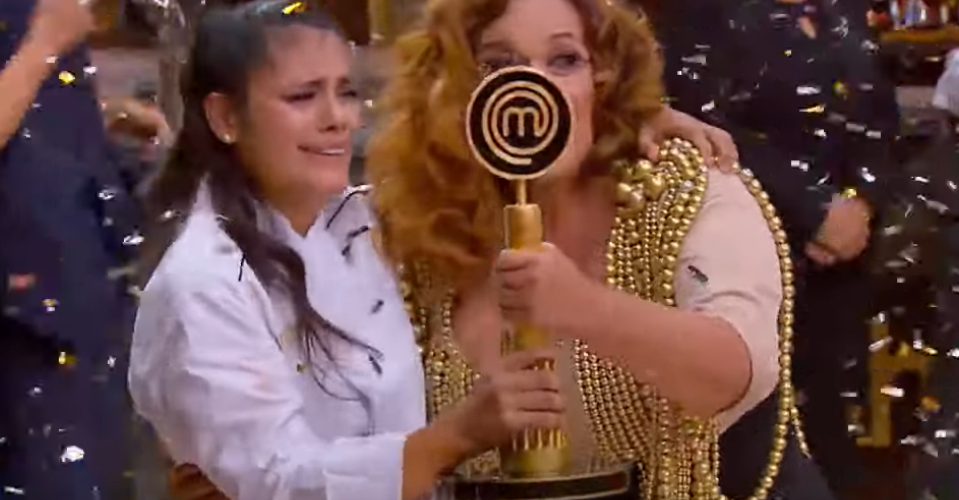 Así fue el triunfo de Carmen en la final de MasterChef La Revancha