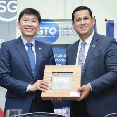 Guanajuato firma convenio con Singapur para desarrollar proyectos que impulsen al estado