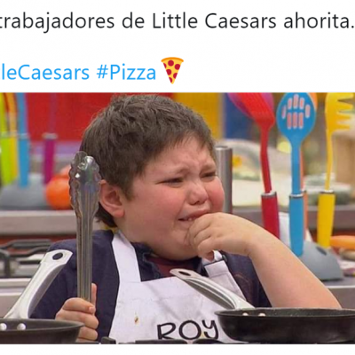 Little Caesars remata sus pizzas y las largas filas desatan memes