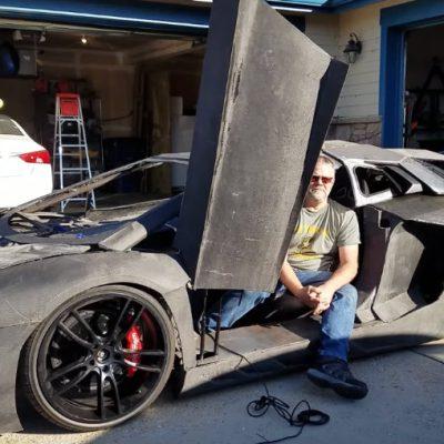 Imprime un Lamborghini en 3D para su hijo y la marca les envía uno real