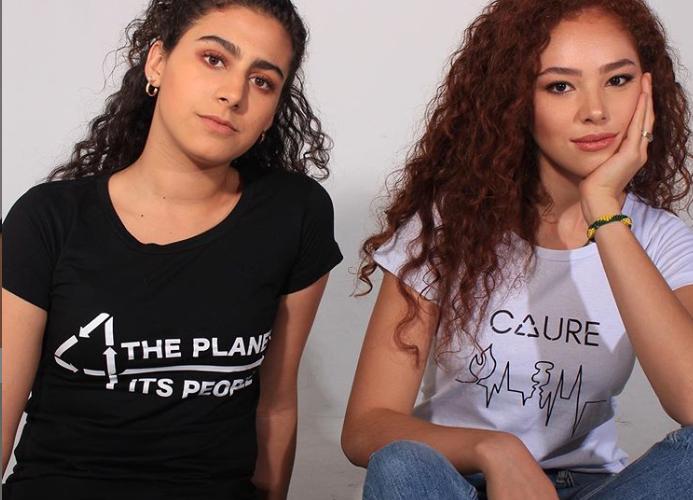 Estudiantes crean marca de ropa hecha con PET y algodón reciclado