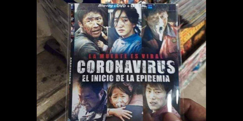 Mexicanos venden película 'pirata' del coronavirus y se hacen virales
