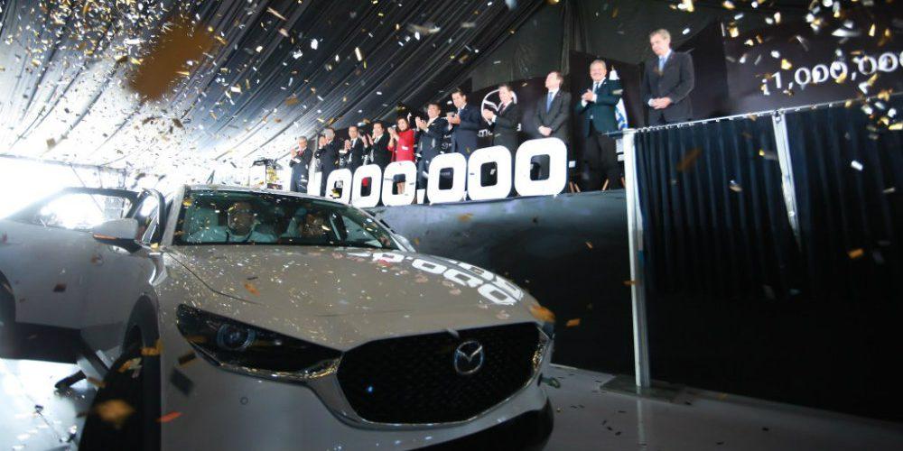 Mazda celebra su primer millón de unidades producidas en Guanajuato