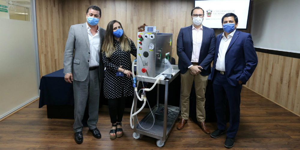ventilador para pacientes con covid