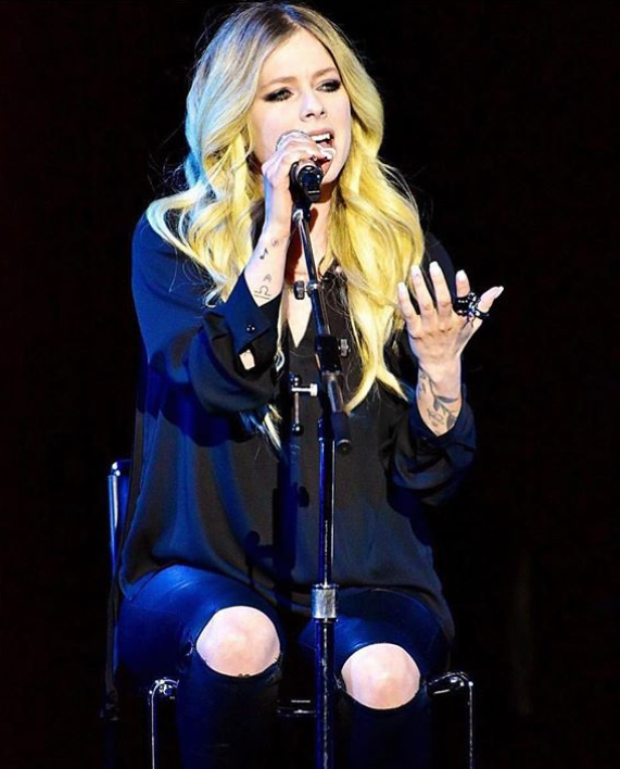 Avril Lavigne en la actualidad