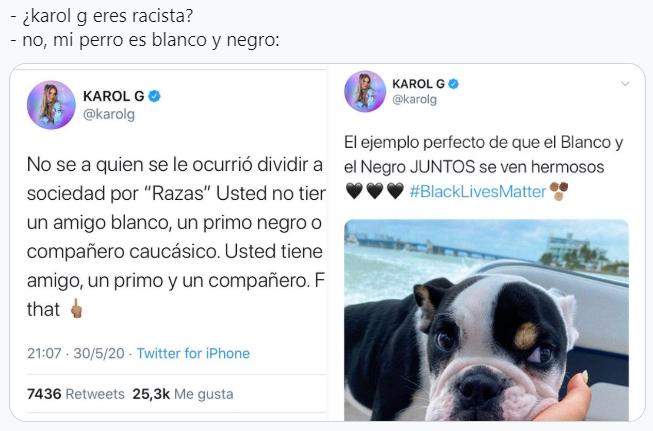 Karol G racismo