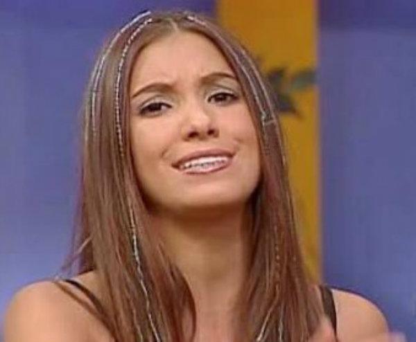 antes y después de Andrea Escalona