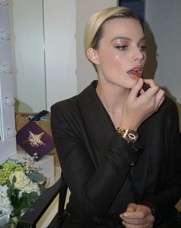 Margot Robbie antes y después