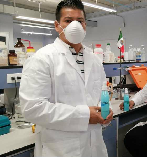 spray que inhibe el covid-19 por 30 dias