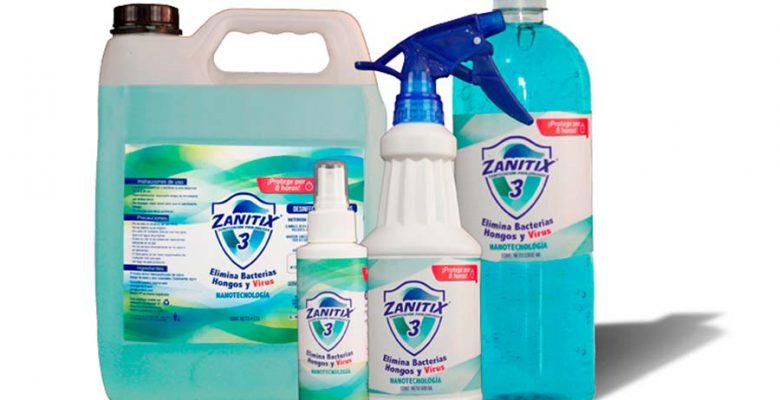 Joven crea sanitizante que dura 8 horas y no daña la piel