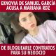 VIDEO: Exnovia de Samuel García acusa a Mariana Rdz de bloquearle contratos