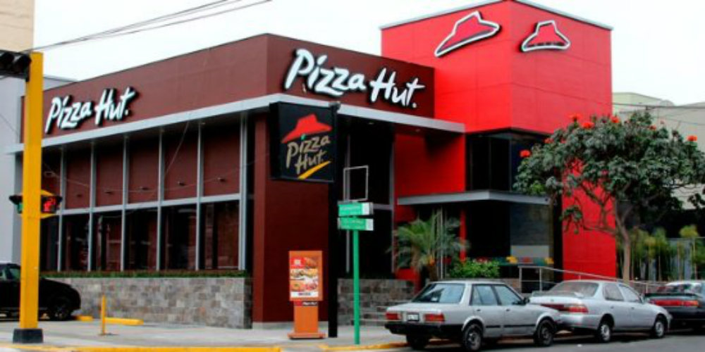 Principal operador de Pizza Hut y Wendy's se declara en quiebra