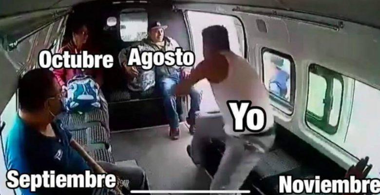 Los memes que dejó el asalto fallido a una combi